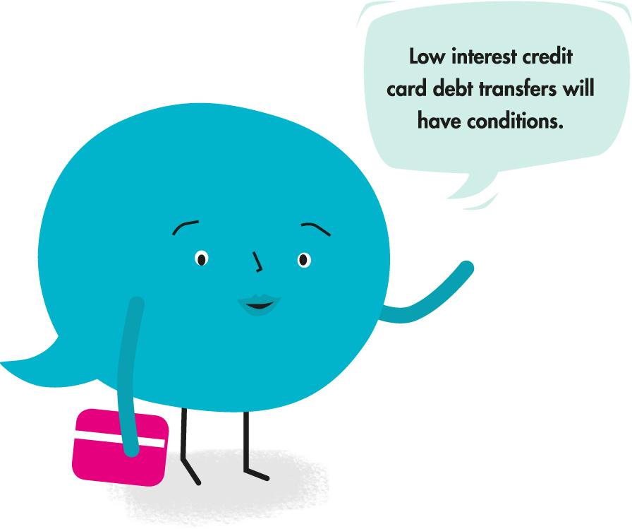 Transferring credit card debt